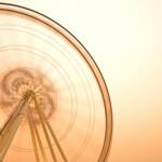 Ferris Wheel by Sura Nualpradid ID-100147329