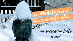 in meditazione