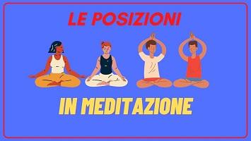 posizioni in meditazione