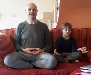 meditazione coi bambini