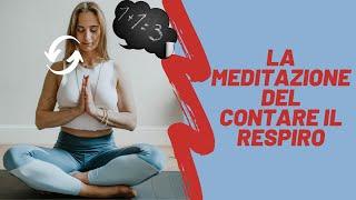 meditazione del contare il respiro